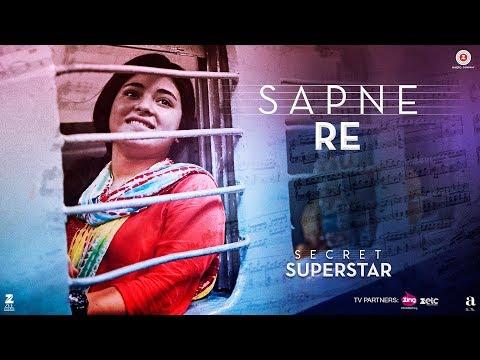 Video Sapne Re | Secret Superstar | Aamir Khan | Zaira Wasim | Amit Trivedi | Kausar Munir | Meghna download in MP3, 3GP, MP4, WEBM, AVI, FLV January 2017