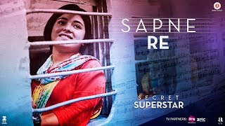 Sapne Re Video Song Secret Superstar Aamir Khan Zaira Wasim