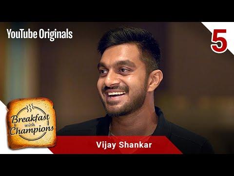 Episode 5 | Vijay Shankar | Breakfast with Champions Season 6