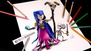 Como dibujo a La Bruja con Larry del juego Clash Royale y Clash of Clans de Supercell. Coloreado con lapices de colores Prismacolor Premiere y marcadores. MY PAGESfacebook: https://www.facebook.com/haroldartistvtwitch: http://www.twitch.tv/amenaza87twitter: https://twitter.com/haroldartistinstagram: https://www.instagram.com/haroldartistMateriales que uso para Dibujar:- Papel de superficie dentada suave- Prismacolors Premiere ( Lapices )- Borrador electronico Intro BY: DJCrystMC https://www.youtube.com/channel/UCHQYen7fWxiRzXAqPSd6ngQMusic by: NoCopyrightSoundsKontinuum - Lost (feat. Savoi) [NCS Release]https://youtu.be/89IUAznfjqE