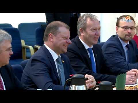 Premier Litwy u prezydenta Suwałk