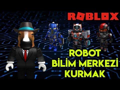 🤖 Kendi Robot Bilim Merkezimizi Kuruyoruz 🤖 | Cybernetic Tycoon | Roblox Türkçe