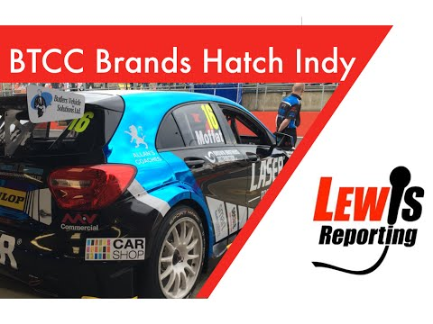 Aiden Moffat - Laser Tools Racing - BTCC Brands Hatch Indy 2016