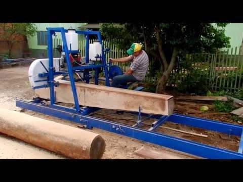 serraria móvel sgarbossa com avanço automático
