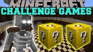Minecraft: MUTANT SKELETON CHALLENGE GAMES - LUCKY BLOCK MOD - Modded Mini-Game