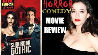 SUBURBAN GOTHIC ( 2014 Kat Dennings ) Horror Comedy Movie Review
