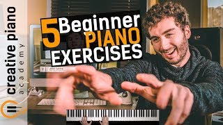 Video The Top 5 Piano Exercises For Beginners MP3, 3GP, MP4, WEBM, AVI, FLV Agustus 2018
