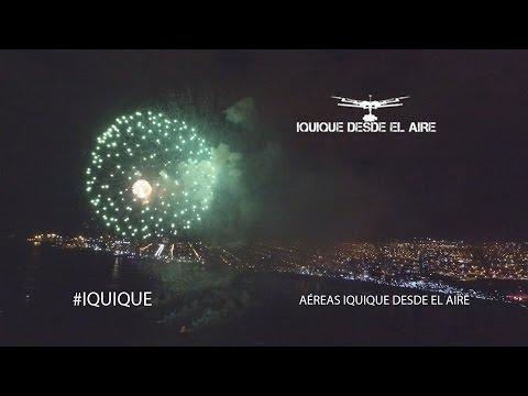 Fuegos Artificiales 2016 Iquique Drone