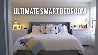 Click to here to enter the Giveaway: http://bit.ly/2s0xaSaDirections for Entry Below. Here is the Ultimate Smart Home Tech Room Tour! This tech bedroom setup has it all! If you are into smarthome technology and want smart room ideas this tech bedroom setup is for you! From the Sleep Number Bed to Smart Lighting, Automated Blinds, Robot Vacuums to Tech hacks this Smart Bedroom design has it all.   ****To enter GIVEAWAY sign up for the Sleep Number newsletter in the link above and comment below the name of your closest Sleep Number store along with any sleep issues you've been having and why you would love to win!This video is sponsored by Sleep Number.Smart Blinds: http://amzn.to/2sLVrg2Solar Panel for Smart Blinds: http://amzn.to/2sMcCOoLametric Time: http://amzn.to/2u4J8PFNomad Lightning/USB C Cable: http://amzn.to/2t1iGXLLIFX Smart Light LED Bulb: http://amzn.to/2sLW5deLIFX Z Light Strips: http://amzn.to/2u4DJs3Amazon Echo Show: http://amzn.to/2t09ToBRoomba 980: http://amzn.to/2v8y94RGray Bed Frame and Headboard: http://amzn.to/2t1VWXtNO PURCHASE NECESSARY.  Open to eligible legal residents of the 50 United States and D.C. at least the age of majority in their jurisdiction. Begins: July 11, 2017 at 11:00:00 AM ET. Ends: July 21, 2017 at 10:59:59 AM ET. Subject to Official Rules available at http://mediakix.com/sweepstakes-dannywinget. Void where prohibited. Sponsor: Mediakix LLC.