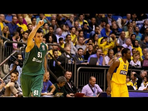 Highlights: RS Round 5, Maccabi FOX Tel Aviv 73-84 Darussafaka Dogus Istanbul