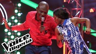 Linda 1nneka vs Ikechukwu sing 'Laye'/ The Voice Nigeria 2016