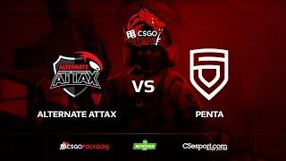 ALTERNATE aTTaX vs PENTA, train, Binary Dragons csgopolygon Season 1
