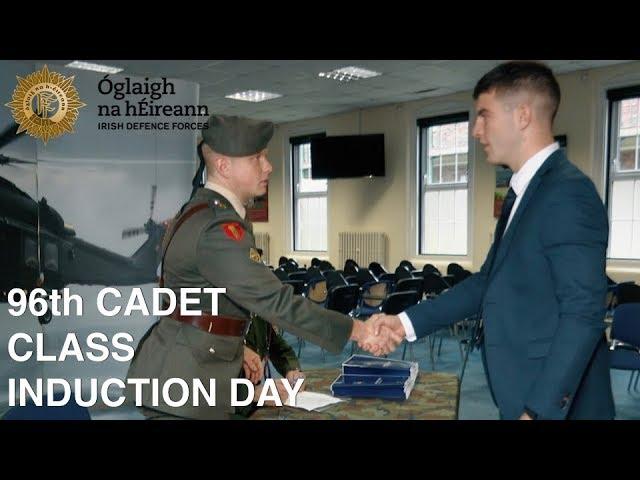 Defence Forces Cadet Induction