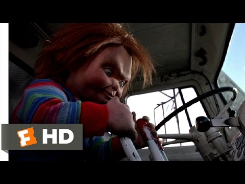 Child's Play 3 (1991) - Taking Out the Trash Scene (3/10) | Movieclips