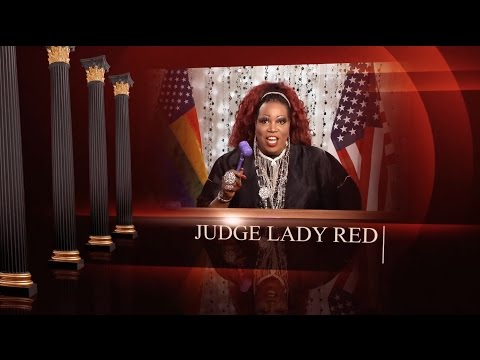 WOWPresents Network Trailer - Judge Lady Red from Hey Qween TV w/ Jonny McGovern