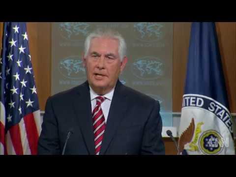 Tillerson addresses Trump's Afghanistan plan
