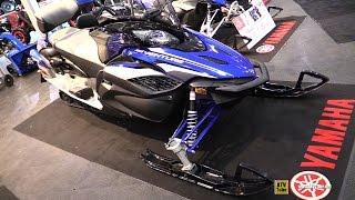 9. 2017 Yamaha RS Venture TF Sled - Walkaround - 2016 Toronto ATV Show