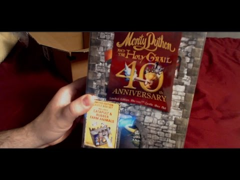Monty Python And The Holy Grail 40th Anniversary Limited Edition Blu Ray Castle Box Set