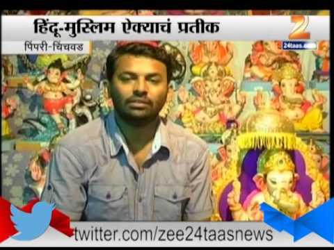Ganesh Murti Preparation in Pimpri 23 August 2014 01 PM