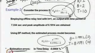 Mod-03 Lec-18 Model Parameter Accuracy And Sensitivity