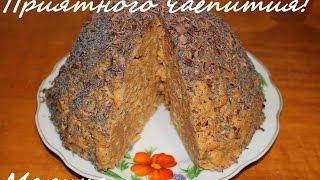 Торт муравейник. Как приготовить вкусный торт муравейник в мультиварке Redmond RMC-M800S, простой рецепт вкусного муравейника. Рецепты для мультиварки. Рецеп...