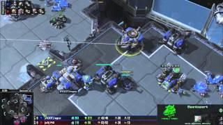(HD991) PiG vs laguz - TvZ - Heart of the Swarm [FR]