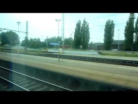 Czech railways Pendolino onboard ride, Ostrava-Svinov to Olomouc [hd720]
