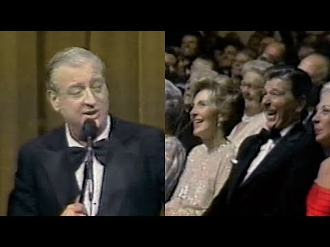 Rodney Dangerfield Has President Reagan Laughing Up A Storm (1981)