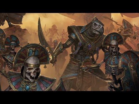 Total War: Warhammer 2 #03 - Царь Рахшан (Изгнанники Нехека)