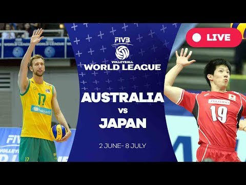Australia v Japan - Group 2: 2017 FIVB Volleyball World League (видео)