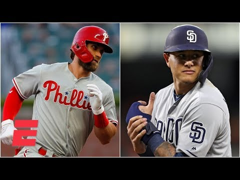 Video: Will Bryce Harper or Manny Machado's contract end up being the better value? | MLB on ESPN