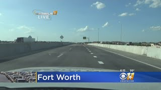 The first managed toll lanes opened Friday morning.