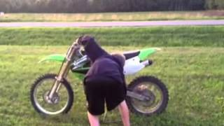 8. Kx100 quick review on bike -PART 1