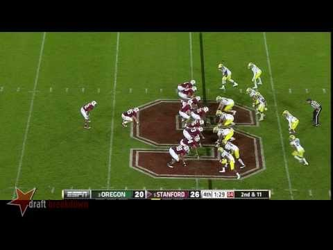 Kevin Hogan vs Oregon 2013 video.