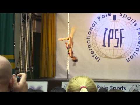 Joanna Littlewood-Johnson - Womens Finals - World Pole Sport Championships 2012 (видео)