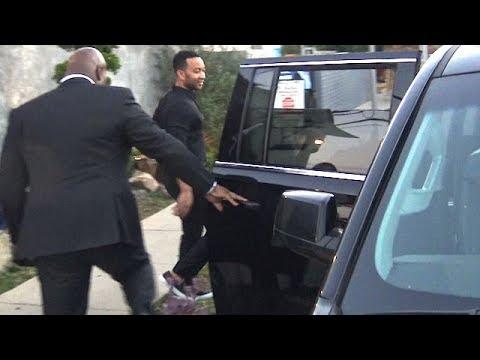 John Legend Is Asked Whose Side He's On For Kanye/Jay Z Feud