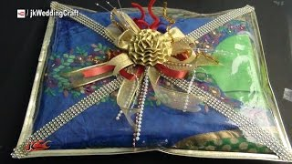 Easy Wedding Trousseau packing - How to pack Indian Dress - JK Wedding Craft  044