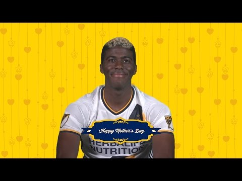 Video: Gyasi loves his mom and has a special message for her ahead of Mother's Day!