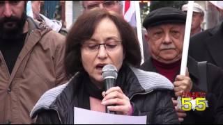 SAMSUN'DA ÖDP'LİLER HRANT DİNK'İ ANDI