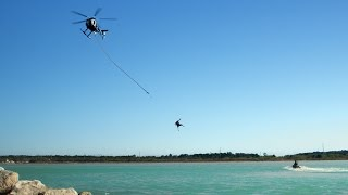 Party Down South | Helicopter Rope Swing