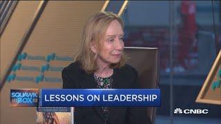 There is no single pattern to leadership, says Doris Kearns Goodwin