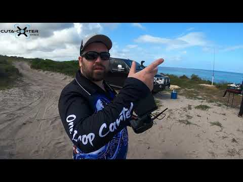Ultimate Drone Fishing - Cuta-Copter EX-1 programming Auto Arm, Take Off, RTL and Come To Me