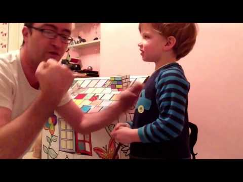 Watch Stunt Kid Knows How To Take A Punch Video