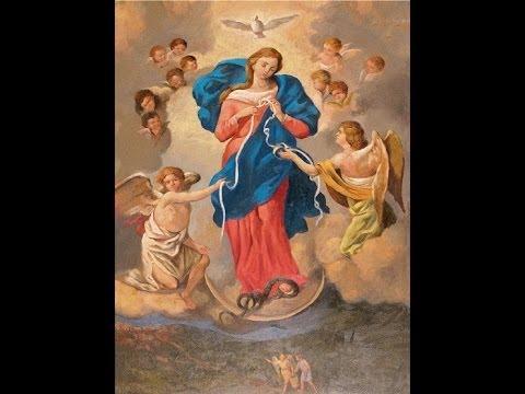 Novena alla Madonna che scioglie i nodi, primo giorno.