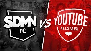 SIDEMEN FC VS YOUTUBE ALLSTARS CHARITY MATCH 2018 LIVESTREAM