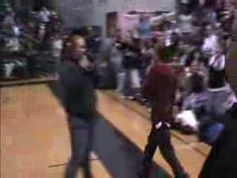 KISS 106.1 Seattle - Frankie J at Jackson High School...