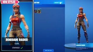 *NEW* Renegade Raider in Item Shop? (Fortnite Renegade Raider Potential Return)