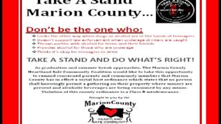 Marion County Heartland Safe Community Coalition May 2013 d