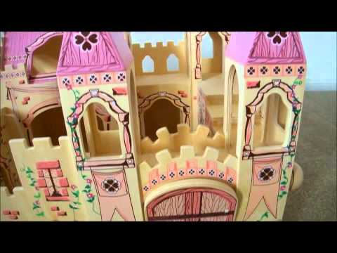 Замок принцессы Melissa Doug