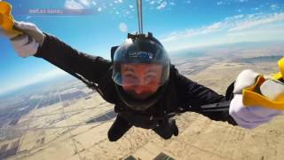 PICTURE PERFECT: Man takes pictures, 15,000 feet up in the air